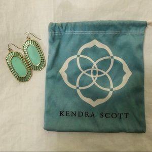 Kendra Scott Large Turquoise Earrings